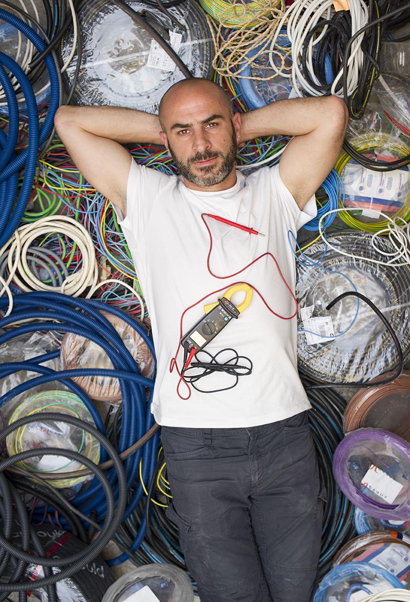 portrait d 39 artisan r alis pour la chambre de m tiers et de l 39 artisanat portrait de xavier. Black Bedroom Furniture Sets. Home Design Ideas